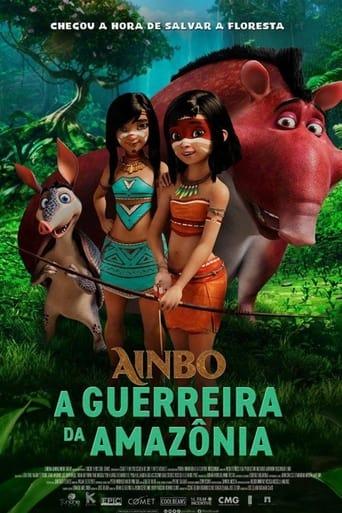 Capa-Ainbo: A Guerreira da Amazônia
