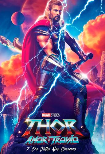 Capa-Thor: Amor e Trovão